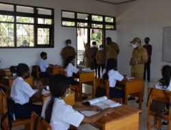 Walikota Pantau Langsung KBM Tatap Muka di Sekolah