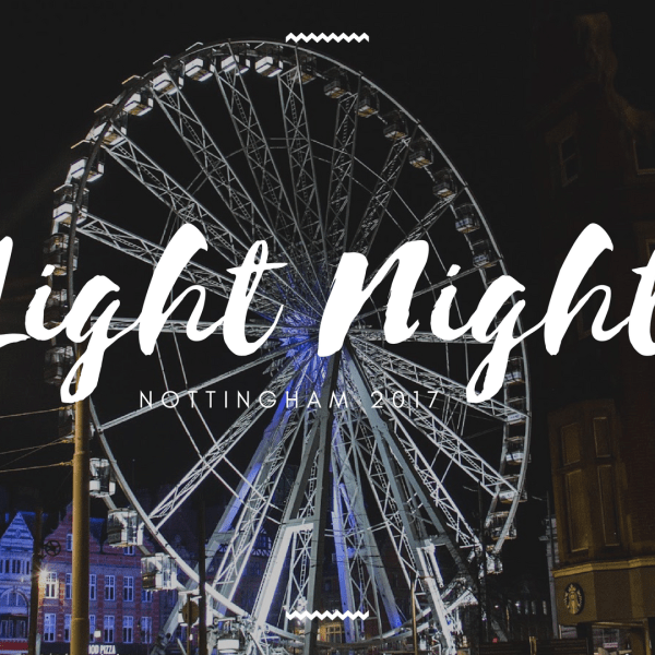 Light Night Nottingham 2017