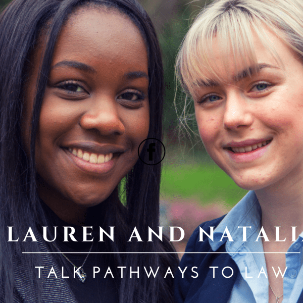 Lauren & Natalia talk Pathways to Law