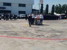 Con homenaje en Fiscalía fue despedido el agente Juan Ávila Álvarez