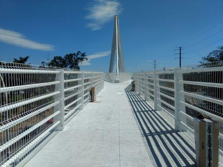 Puente atirantado - Parque lineal de Tepic