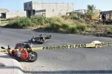 Fallece mujer tras accidente de motos en Tepic3