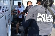 Fallece mujer tras accidente de motos en Tepic4