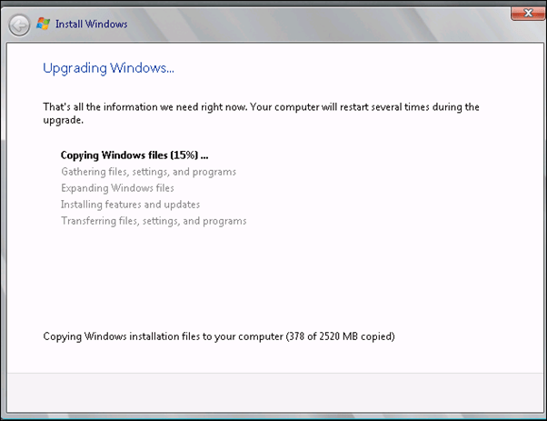 how to know the windows server version