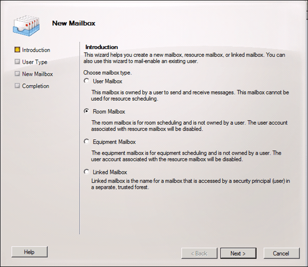 Question:How To Configure Room Finder In Exchange Server 2010 Step By Step (2/6)
