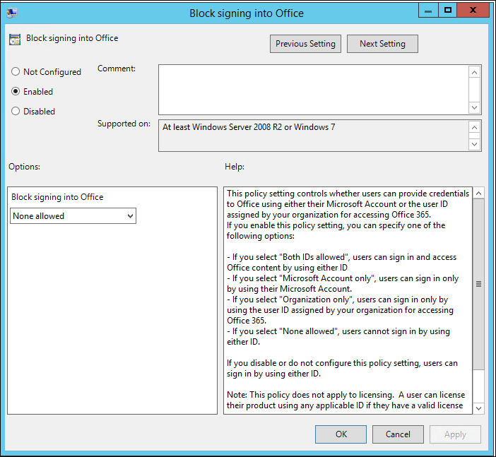 How to Disable Remove Save To OneDrive Office 2013 Using
