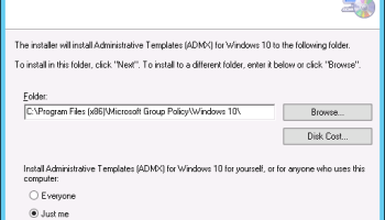 Install OneDrive For Business Administrative Templates
