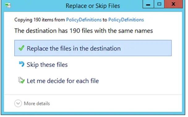 windows 7 administrative templates
