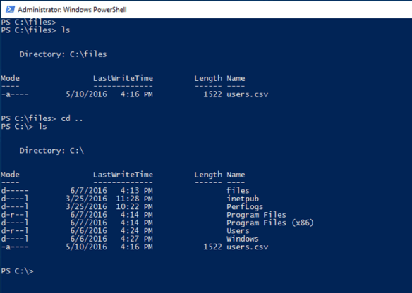 Copy Files Between A Container host And A Windows Container