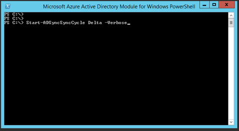 Sync Changes To Office 365 Using AD Connect PowerShell