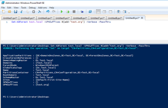 Get Domain And Forest Info Using Active Directory PowerShell Module