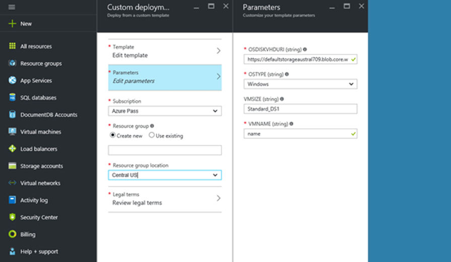How To Create An Azure VM From Existing Image ( VHD) In The