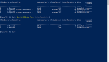 Set Windows Server Core 2016 IP Address Using PowerShell
