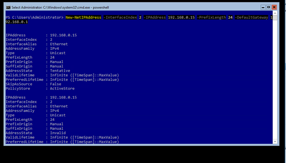 How To Find Ip Address Using Powershell How to Change IP