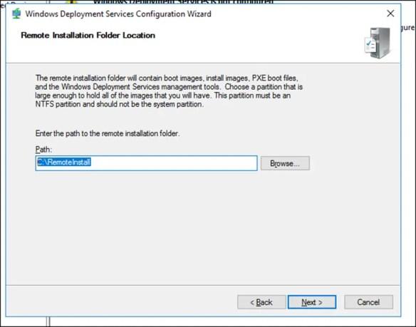 Install Windows Deployment Server On Windows Server 2016