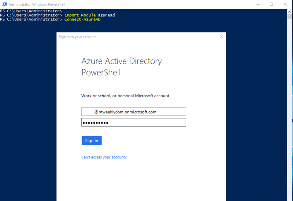 At The Prompt, Iu0027ll Enter My Office 365 User ID