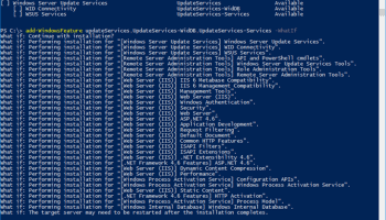 WSUS 3 0 Install Fails