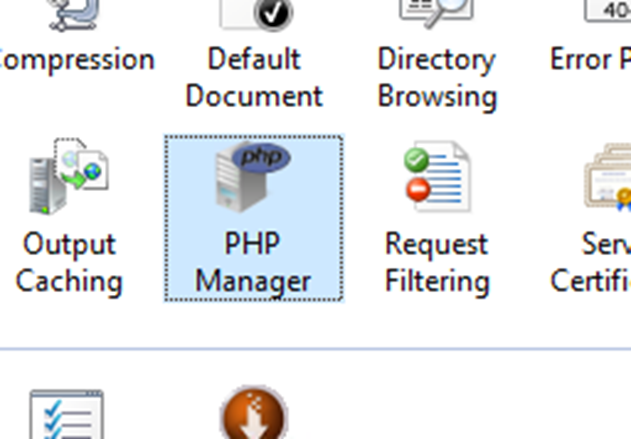 How to Install PHP Manager on Windows Server 2016 And