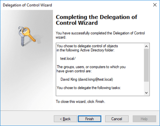 How to Delegate Control on Active Directory Windows Server