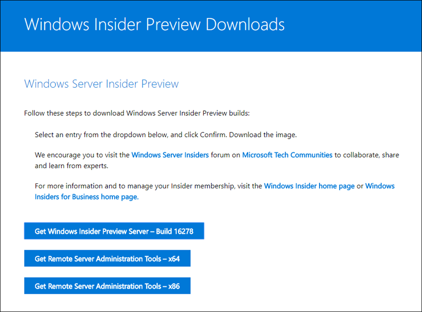 Windows Insider Forum