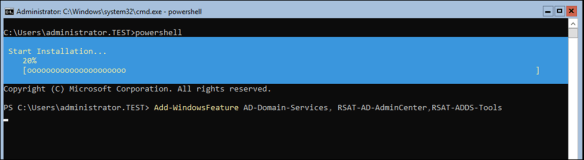 Promote Windows Server Core 2016 To Be a Domain Controller