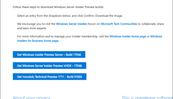 Windows Server 2019 Preview Build Released - Cloud and