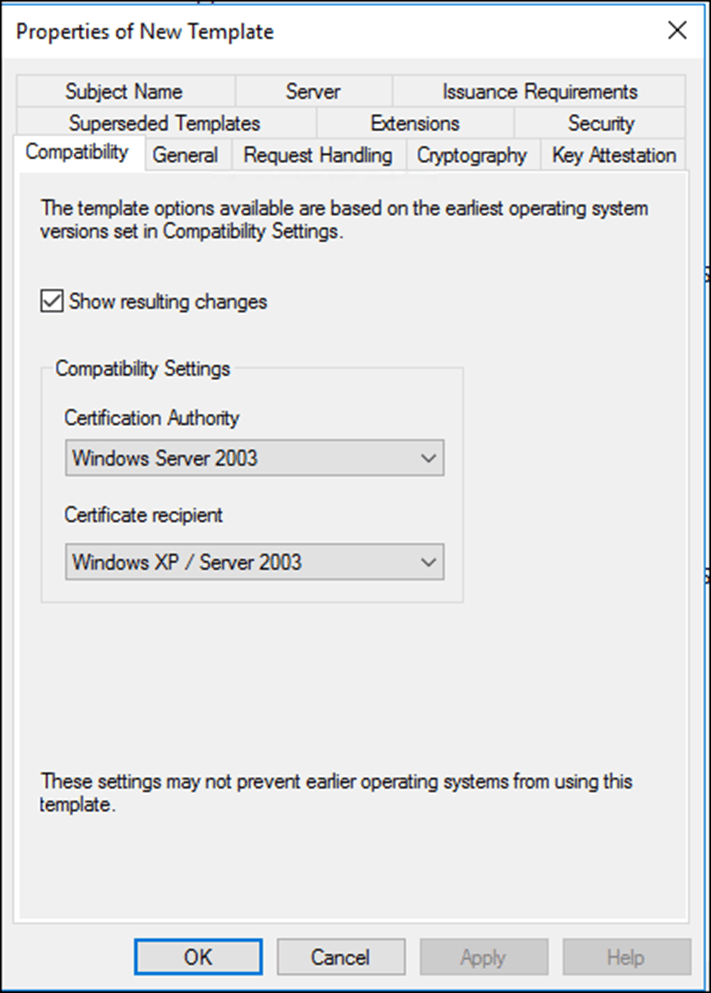 Certificate auto enrollment using group policy and windows server from the compatibility tab ill change the compatibility level yadclub Choice Image