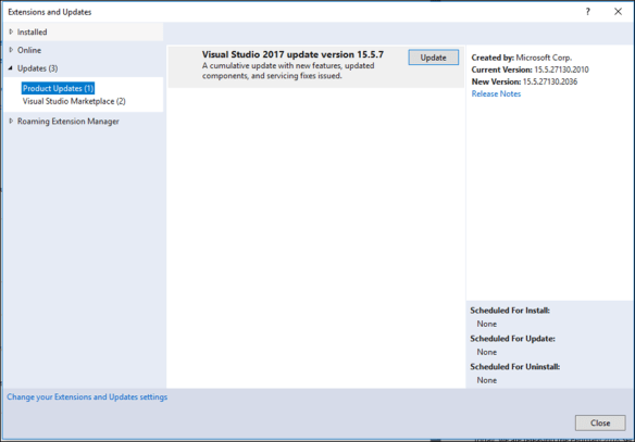 How To Update Visual Studio 2017 To Latest Build - Cloud and DevOps Blog