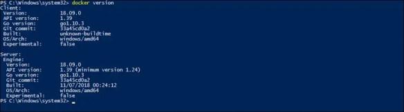 Docker Minimum Requirements Windows 10