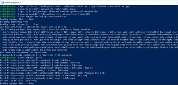 Install  NET Core 2 2 On Ubuntu 18 04 Linux - Cloud and