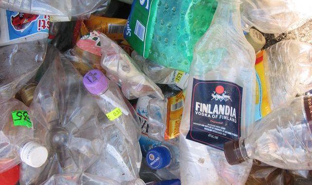 Plastmasas pudeļu akcija
