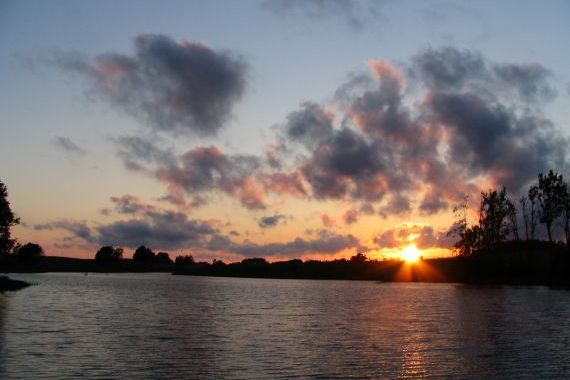 Dzirnavu ezers- dzīvā glezna