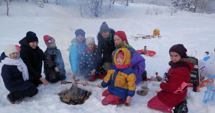 Sniega diena Irlavā