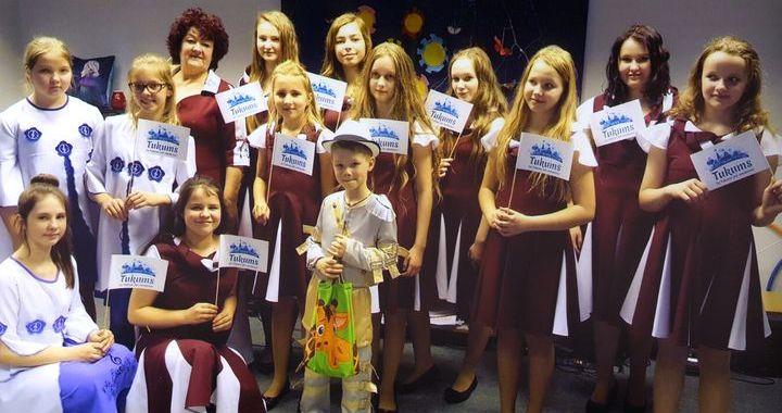 Tukuma bērnu vokālā grupa «Varavīksne» brīvlaiku pavadījusi Igaunijā