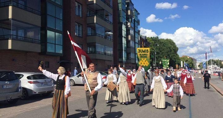 Slampes dejotāji Eiropiādē Somijā