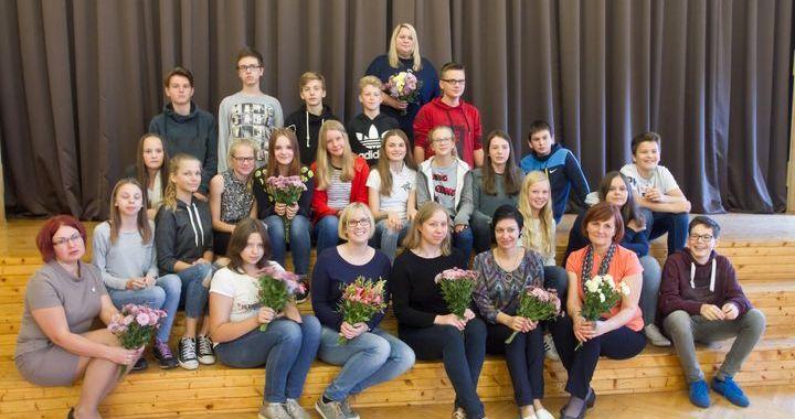 Tukuma Raiņa ģimnāzijā viesojās Šēseles Eihes skolas audzēkņi un skolotāji /FOTO/