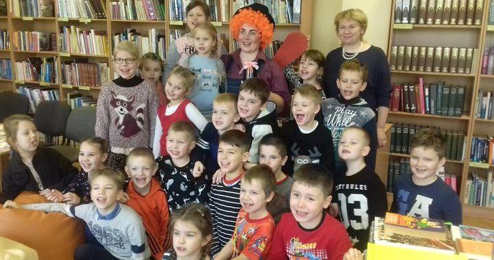 Pasākums bērniem «Kopā ar Karlsonu!» Slampes pagasta bibliotēkā
