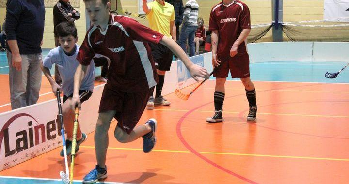 Irlavā noticis Latvijas speciālās olimpiādes kausa izcīņas pusfināls florbolā