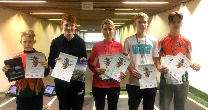 Tukuma šāvējiem panākumi Latvijas Jaunatnes čempionātā