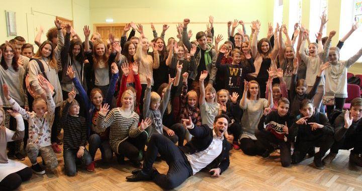 Profesiju diena Jaunpils vidusskolā