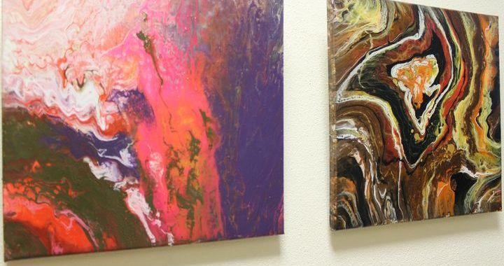 Lapmežciema muzejā atklāta mākslinieces Kitijas Strupes izstāde /FOTO/