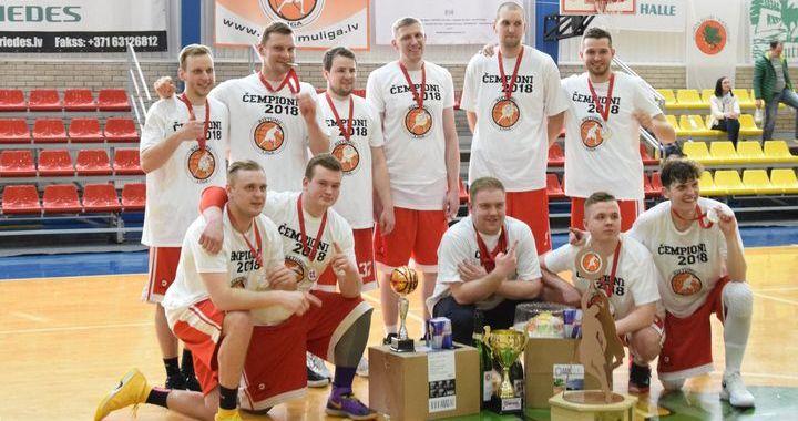 Kandavā noslēgusies «Kurzemes radio/Rietumu līgas» devītā basketbola sezona