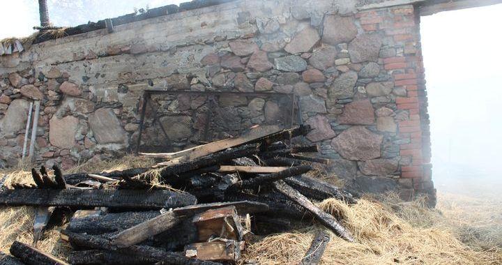 Palīdzēsim ugunsgrēkā cietušai saimniecībai!