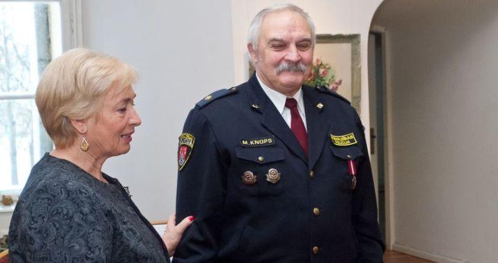 Sveic Jaunpils novada pašvaldības policistus un brīvprātīgos ugunsdzēsējus