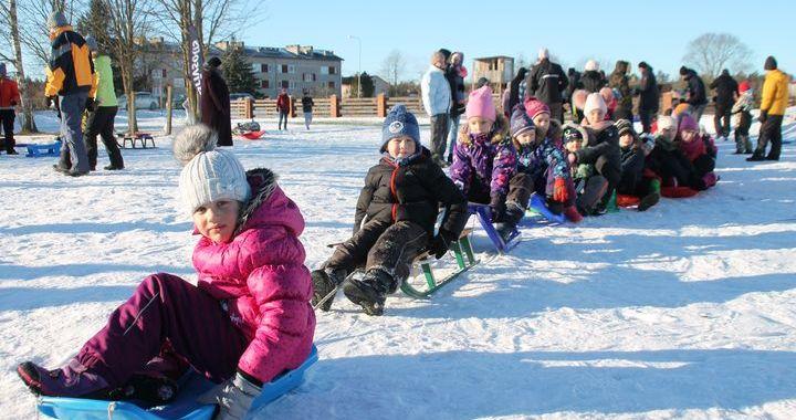 Sniega diena Smārdē/FOTO/