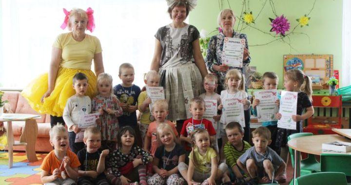 Bērnudārzs «Taurenītis» savākuši 19 tonnas makulatūras