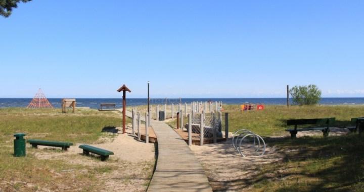Engures pludmale atzīta par tīrāko
