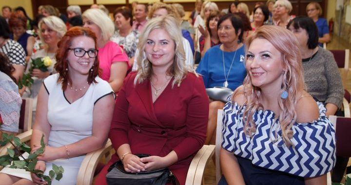 Skolotāju konferencē Šlokenbekā/FOTO/