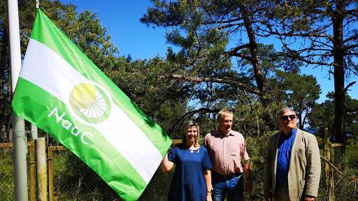 Piešķir «NaaC» karogus, to skaitā Ķesterciema pludmalei