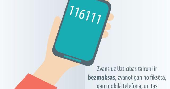 Skolēnus aicina izstrādāt reklāmu Bērnu un pusaudžu uzticības tālruņa aplikācijai